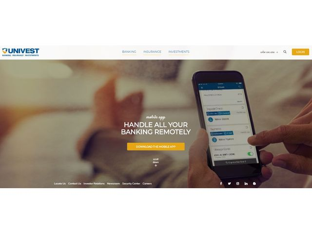 Univest Online Banking