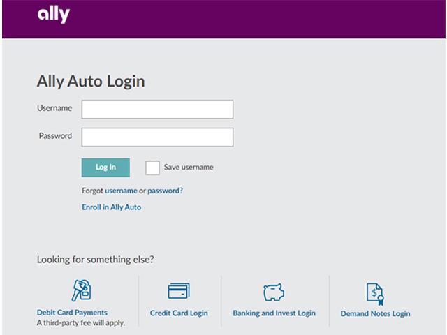 Ally Auto Loan Login